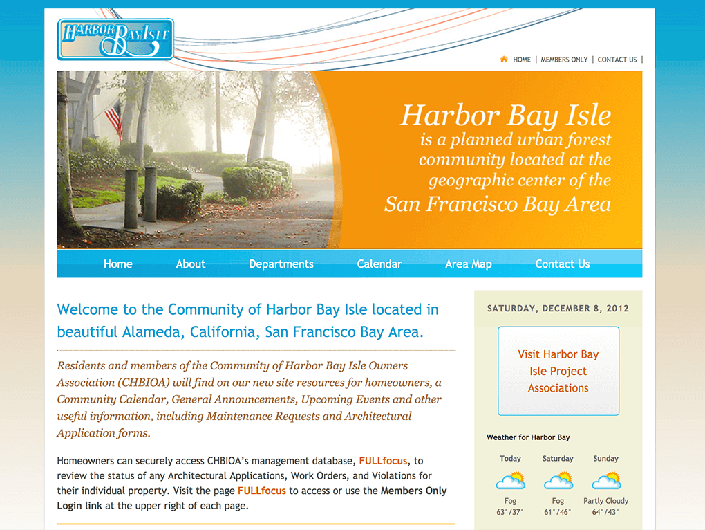 Harbor Bay Isles Home Owners Association