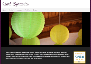 Event Dynamics – Creating memorable atmospheres for special events.